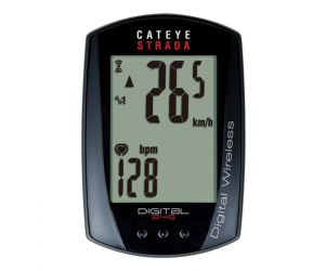 Cateye Cyclo Computer Sepeda Strada Digital Wireless CC-RD420DW