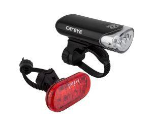 Cat Eye Lampu Set Sepeda EL135 dan LD135