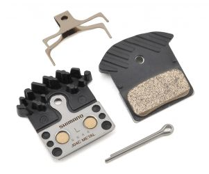 Shimano J04C Metal Disc Brake Pads with Cooling Fin & Spring