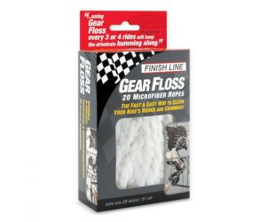 Finish Line Tools Pembersih Sepeda Gear Floss Microfiber Rope