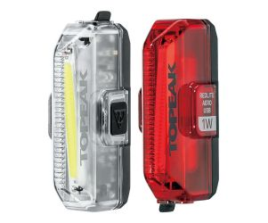 Topeak Aero USB 1W Combo Light Set