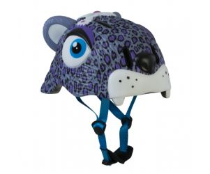 Crazy Leopard Kids Bike Helmet