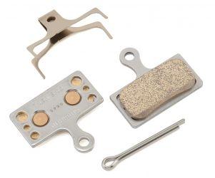 Shimano G04S Metal Disc Brake Pads & Spring