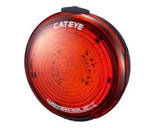 Cat Eye Lampu Belakang Sepeda Wearable X WA100