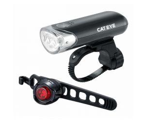 Cateye Lamp Kit Sepeda EL135 & ORB LD160
