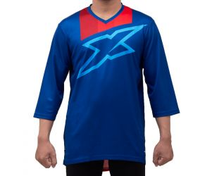 XZone Jersey Sepeda AM Chase 3/4 Sleeve