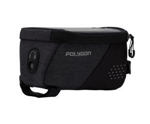 Polygon Top Tube Bag Sepeda with Phone Display
