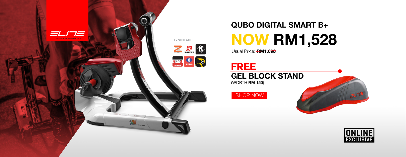 Elite trainer Qubo Digital Smart B +