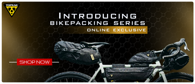 Introducing Topeak Bikepacking Series