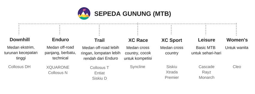 Kategori Sepeda MTB