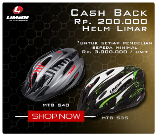 Cash Back Limar Helmet