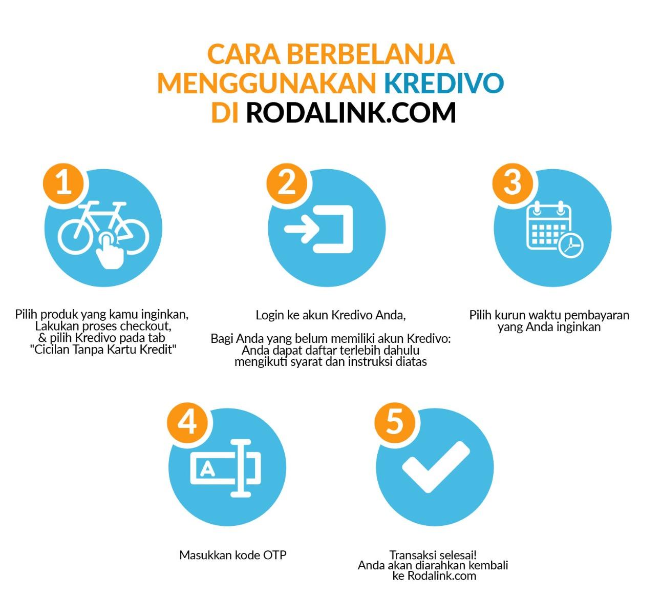 Cara Berbelanja menggunakan Kredivo di Rodalink.com