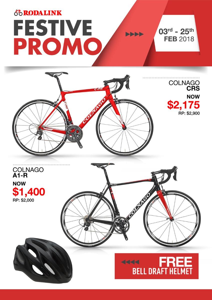 Colnago Bikes Promo