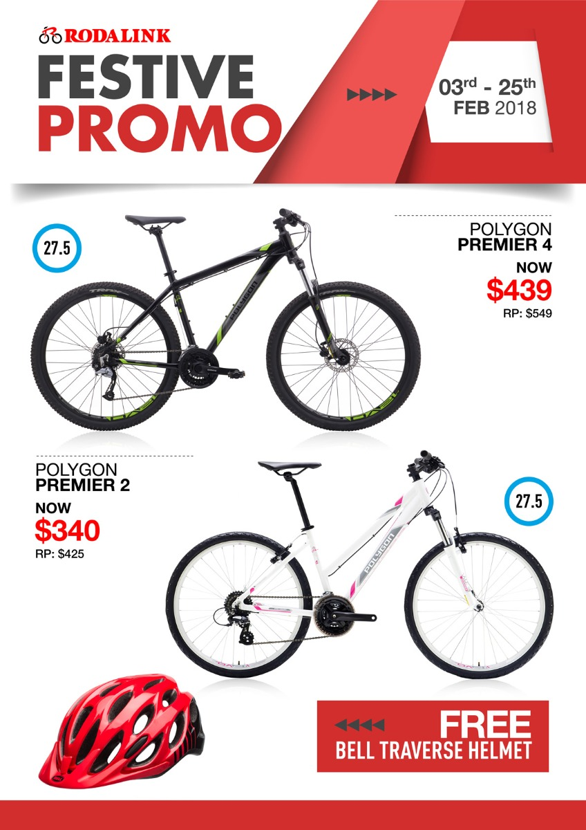 Polygon Bikes Promo