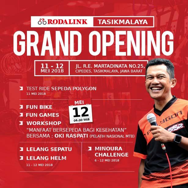 Grand Opening Rodalink Tasikmalaya