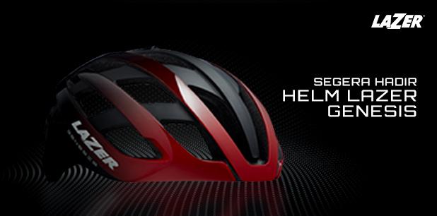 Helm Lazer Genesis Segera Hadir di Rodalink