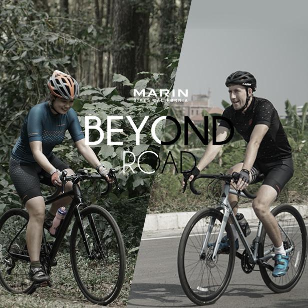 Marin Beyond Road, Sepeda Gravel untuk Segala Medan