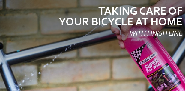 Taking Care of Your Bicycle at Home