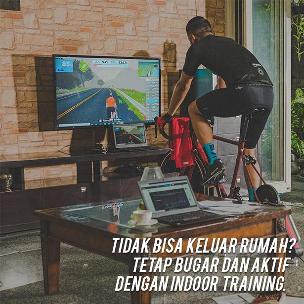 Tidak bisa keluar rumah? Tetap bugar dan aktif dengan indoor training