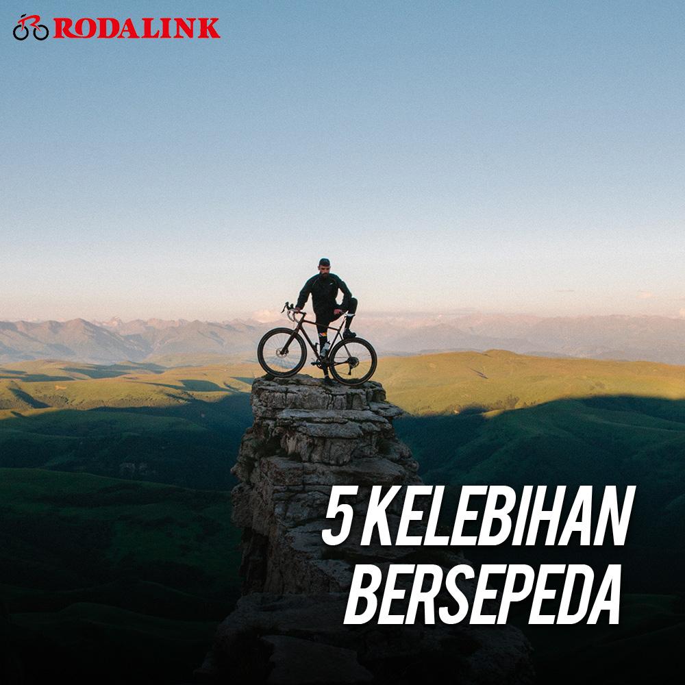 5 Kelebihan Bersepeda