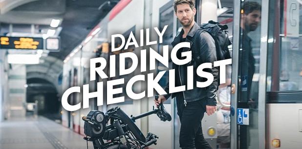 Daily Riding Checklist