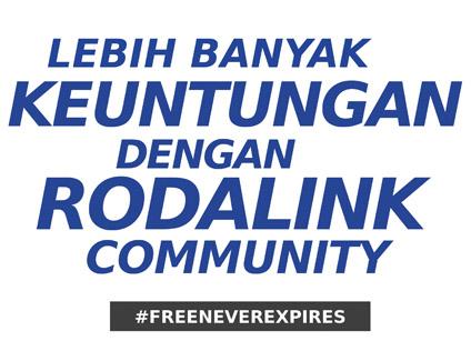 Bergabung Sekarang di Rodalink.com
