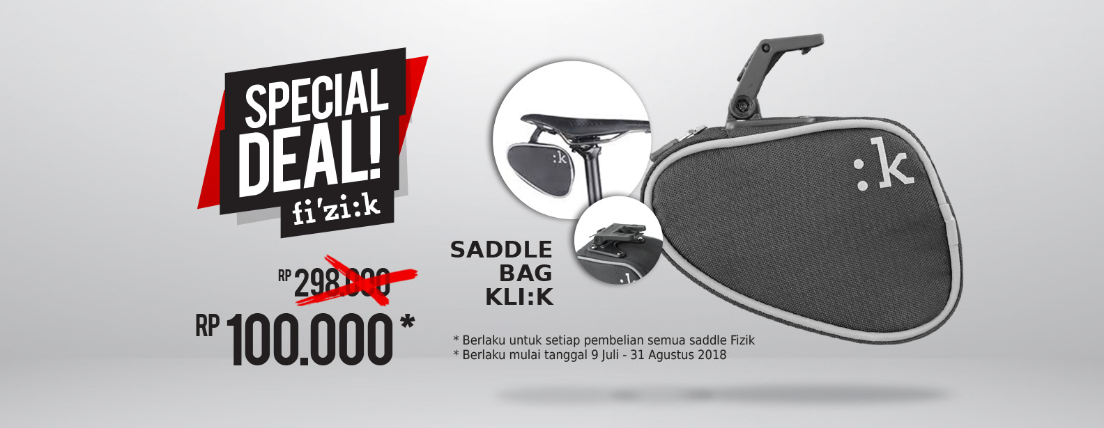 Promo PWP Fizik Saddle