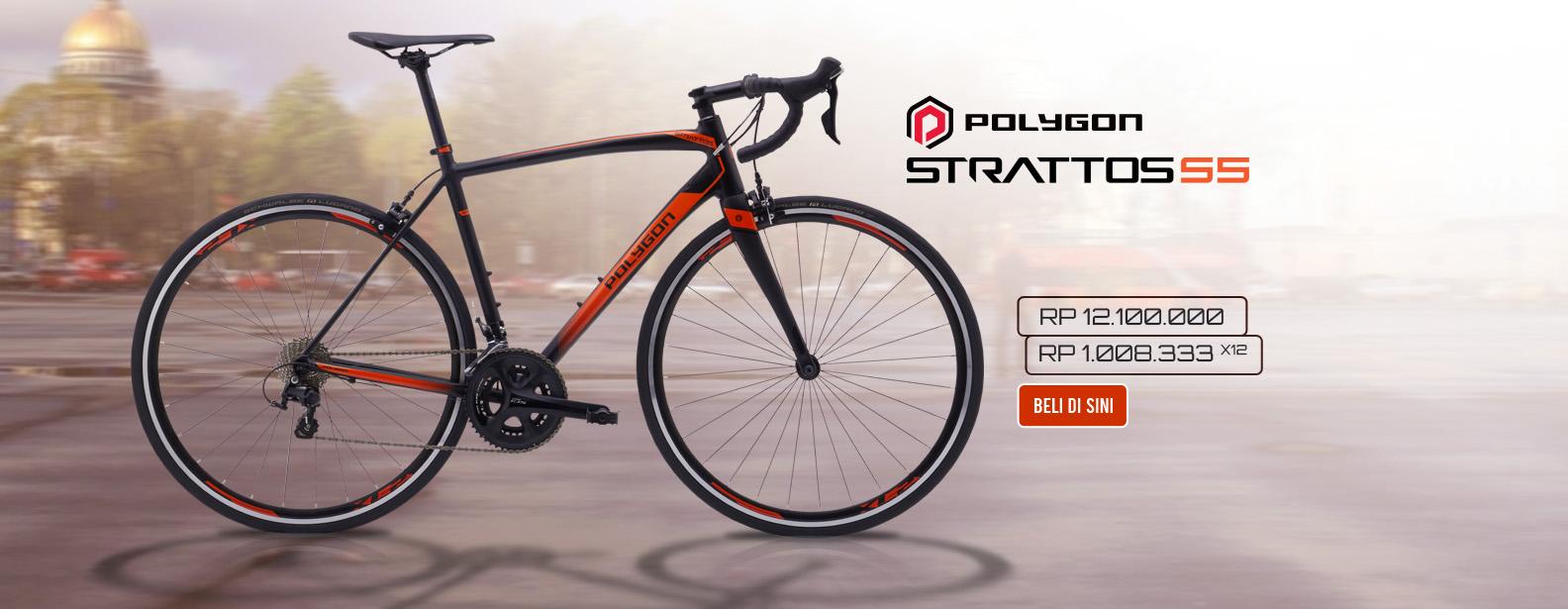 Polygon Sepeda Strattos S5