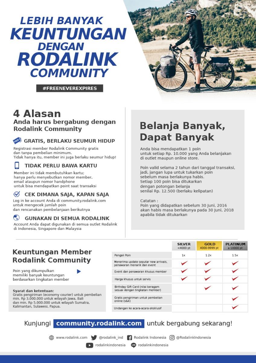 Keuntung Member Rodalink