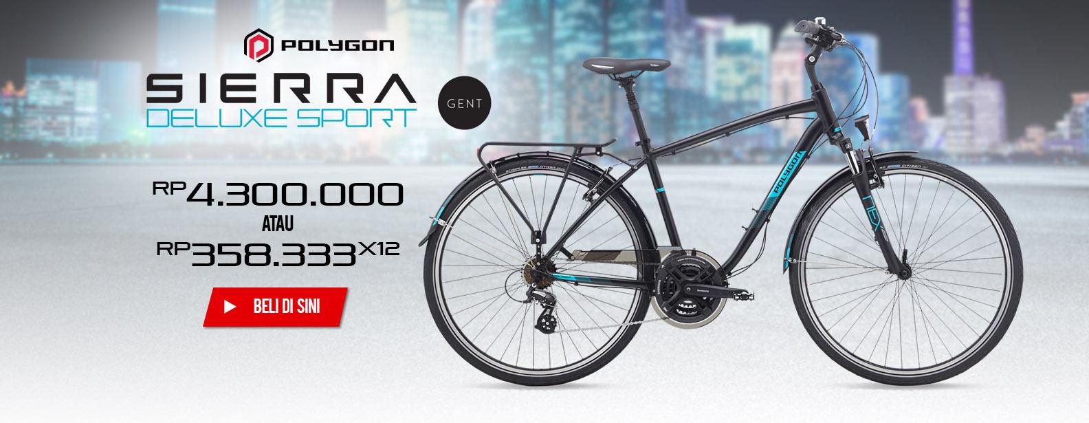 Polygon Sepeda Sierra Deluxe Sport Gent