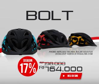 Promo Merdeka Helm Bolt