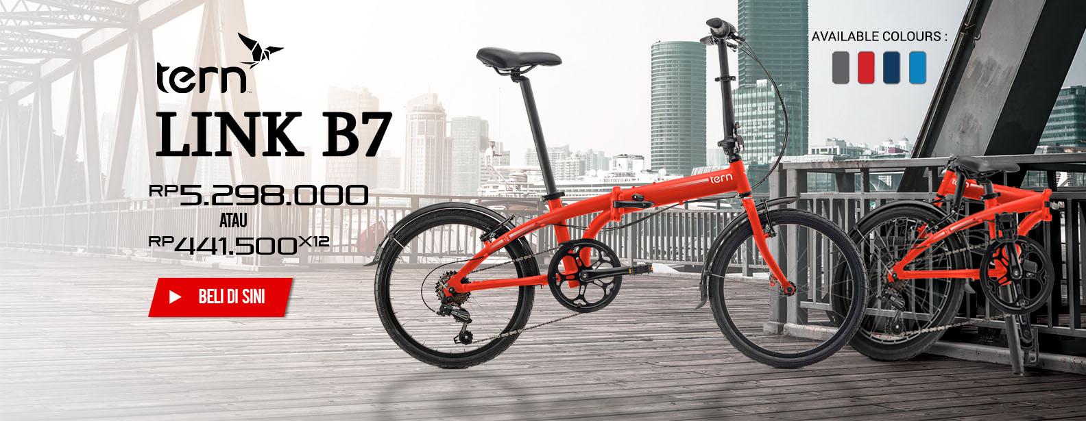 Tern Sepeda Lipat Link B7