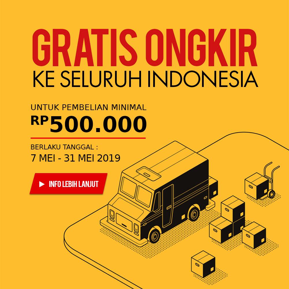 Promo Gratis Ongkos Kirim ke Seluruh Indonesia | RODALINK