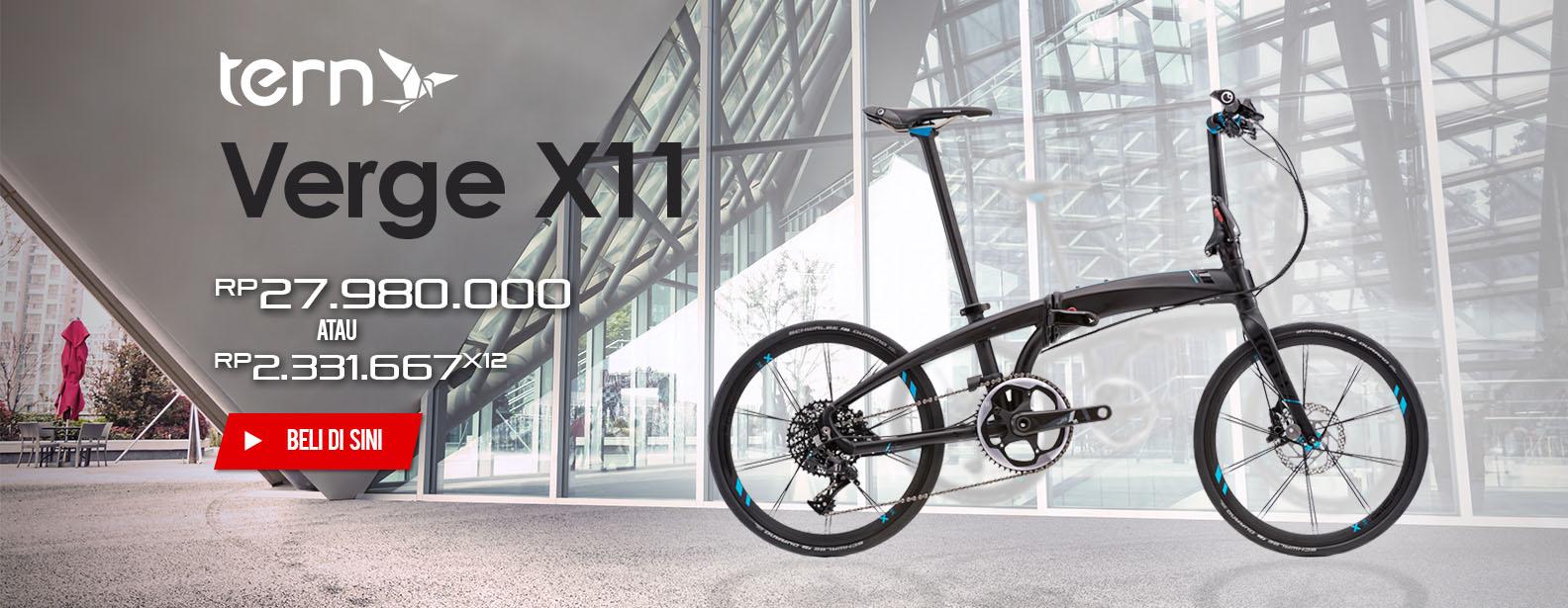 Tern Sepeda Lipat Verge X11