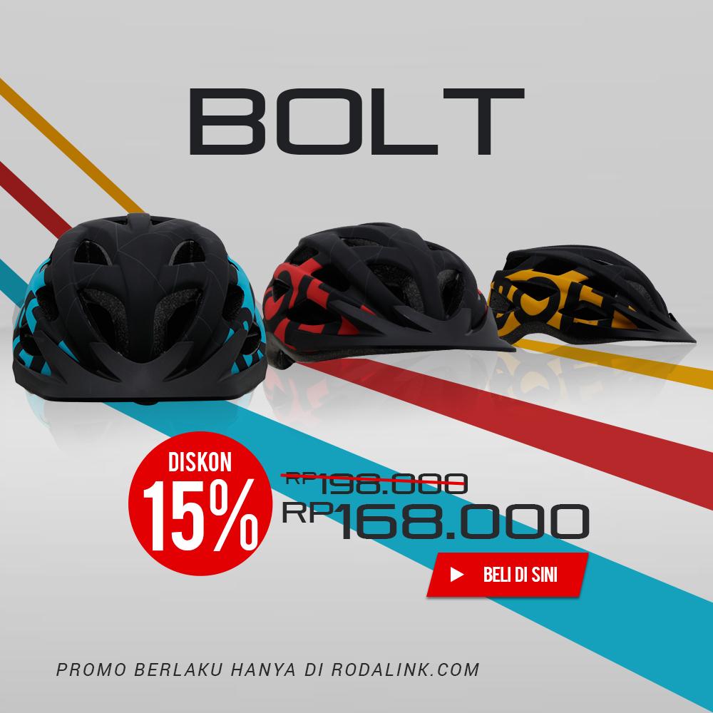 Promo Polygon Helm Bolt