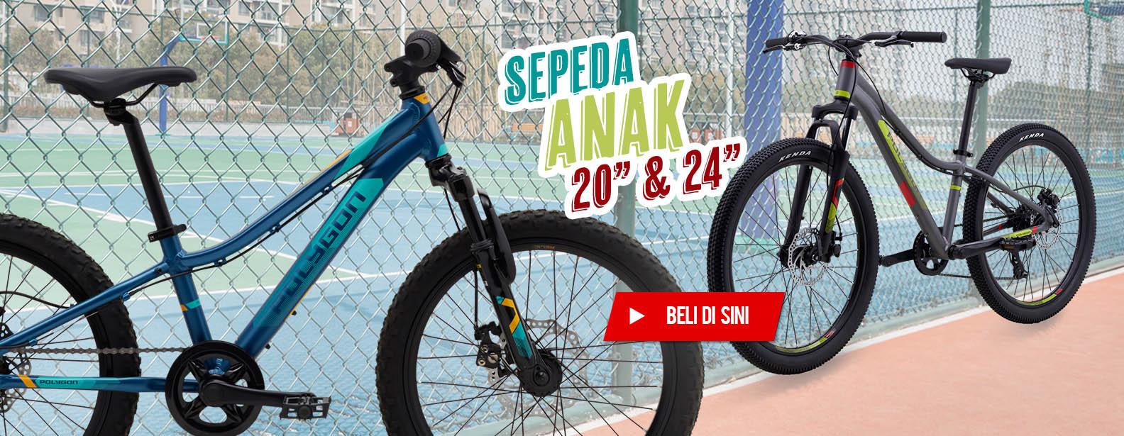 "Polygon Sepeda Anak 20"" & 24"""
