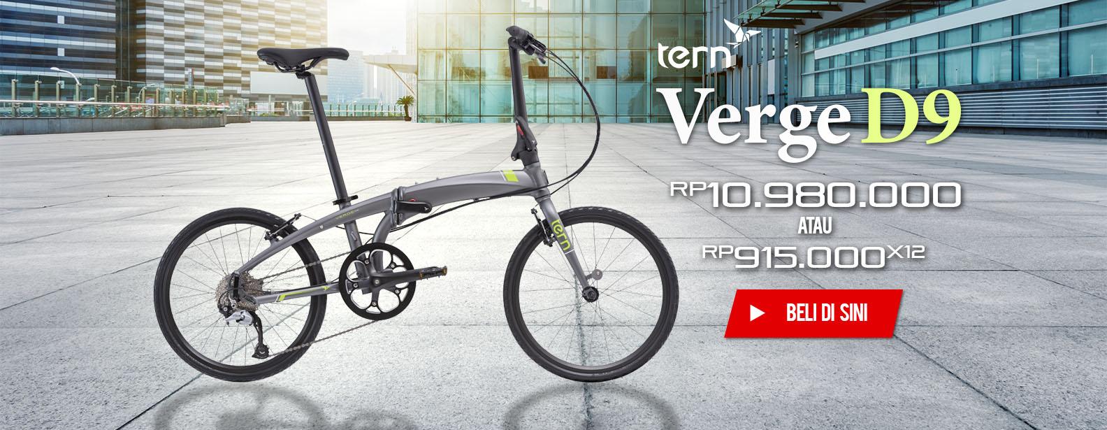 Tern Sepeda Lipat Verge D9 2017
