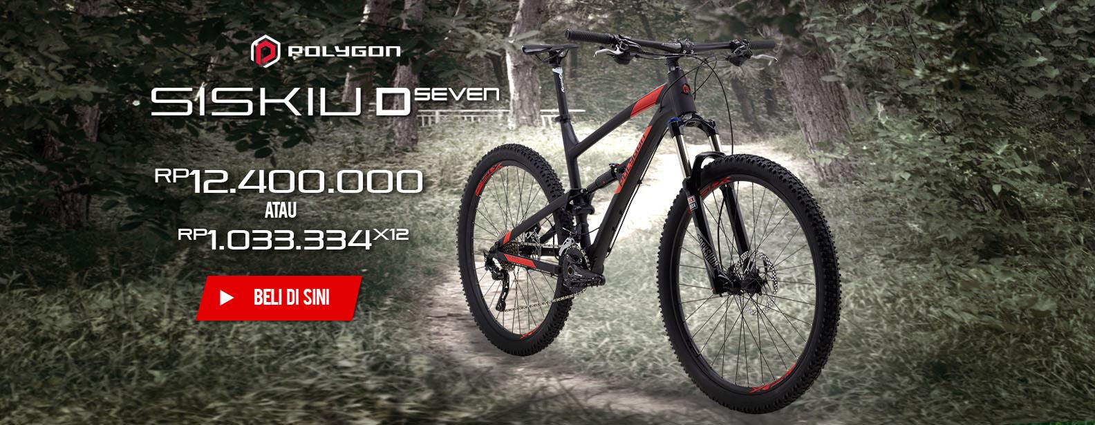 Polygon Sepeda MTB Siskiu D7