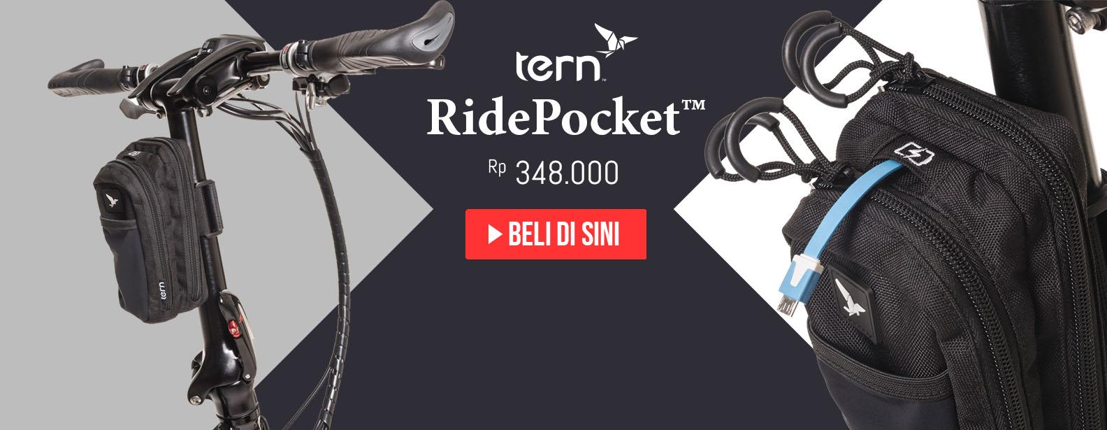 Tern Tas Handlepost Sepeda RidePocket