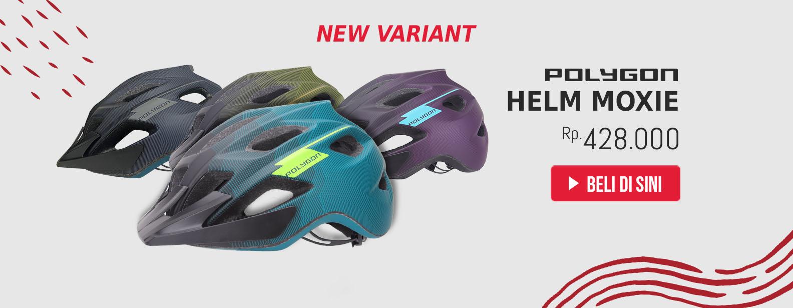 Polygon Helm Sepeda Moxie