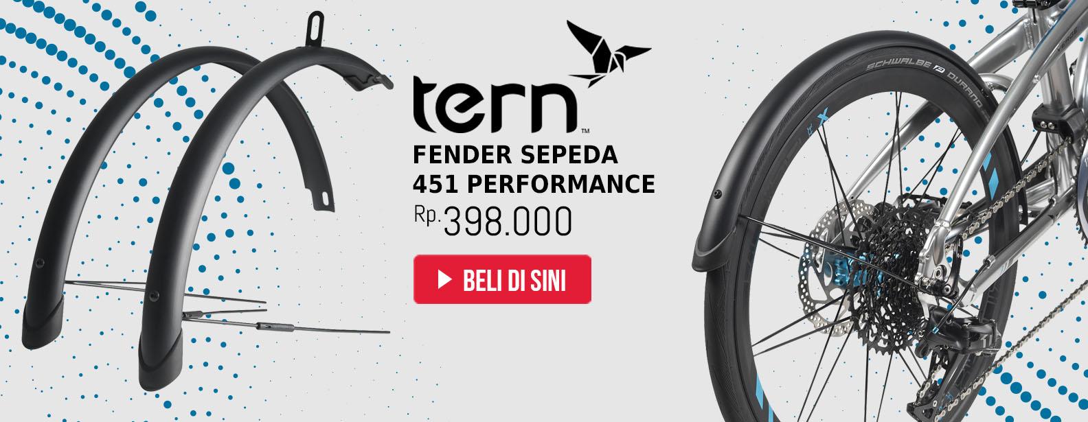 Tern Fender Sepeda 451 Performance