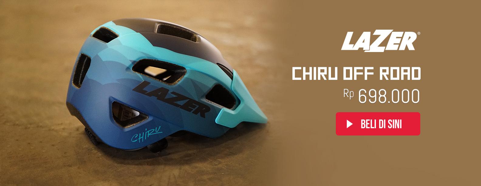 Lazer Helm Sepeda Chiru Off Road