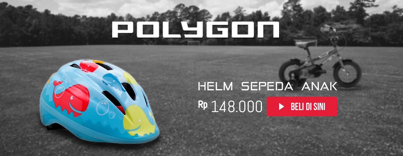 Polygon Helm Anak