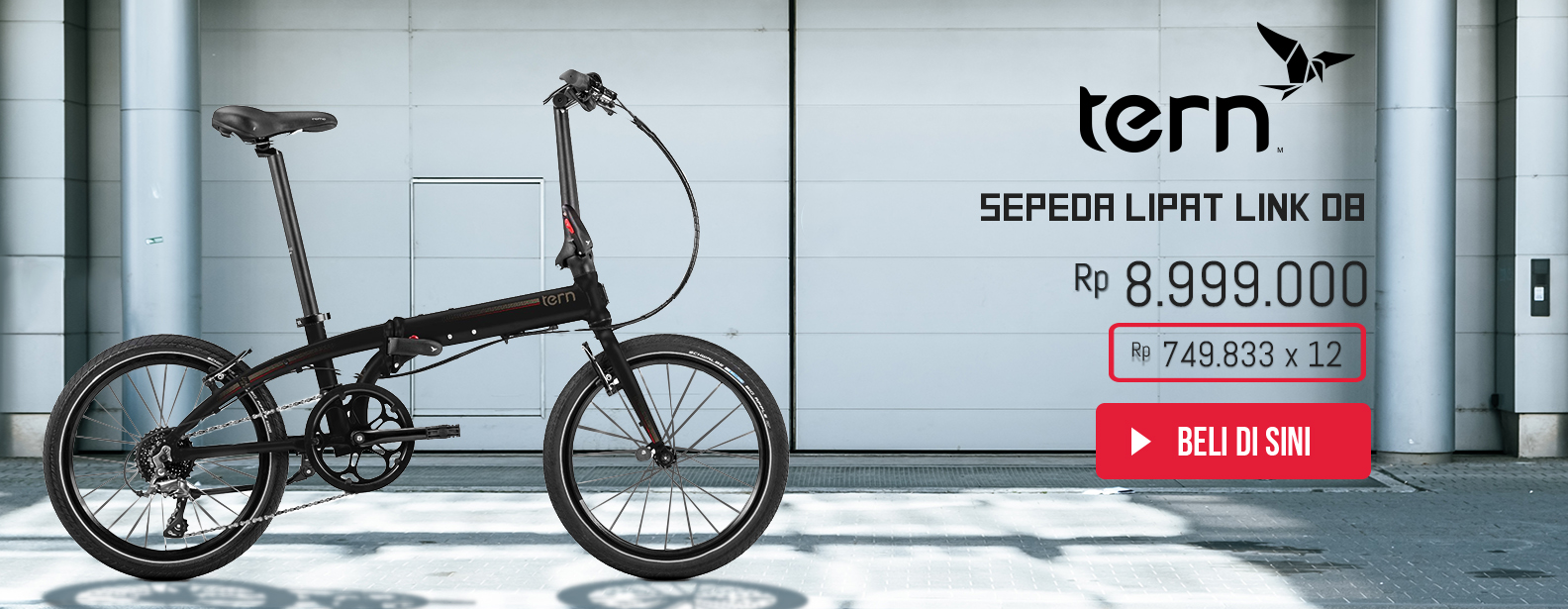 Tern Sepeda Lipat Link D8 - Limited Edition