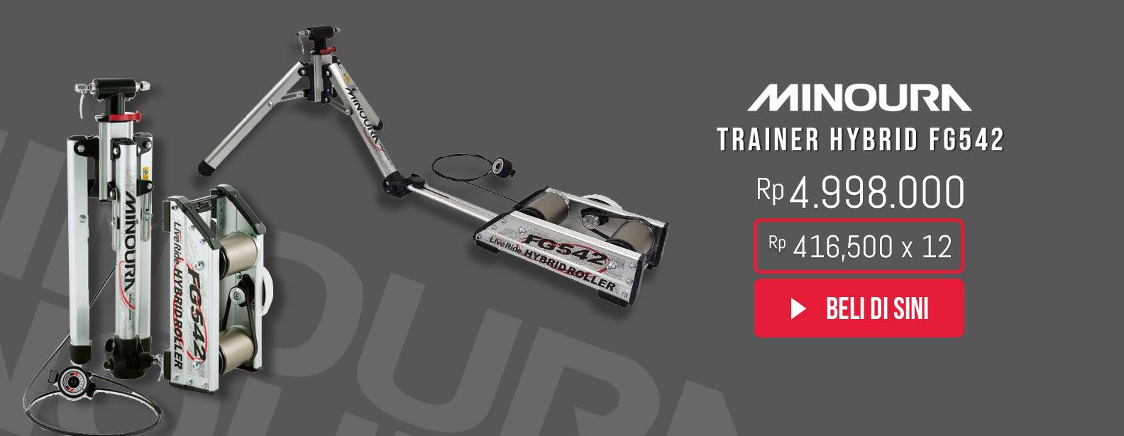 Minoura Roller Sepeda Hybrid FG542