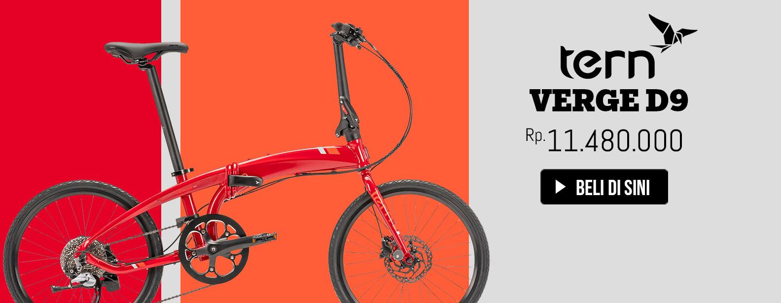 Tern Sepeda Lipat Verge D9