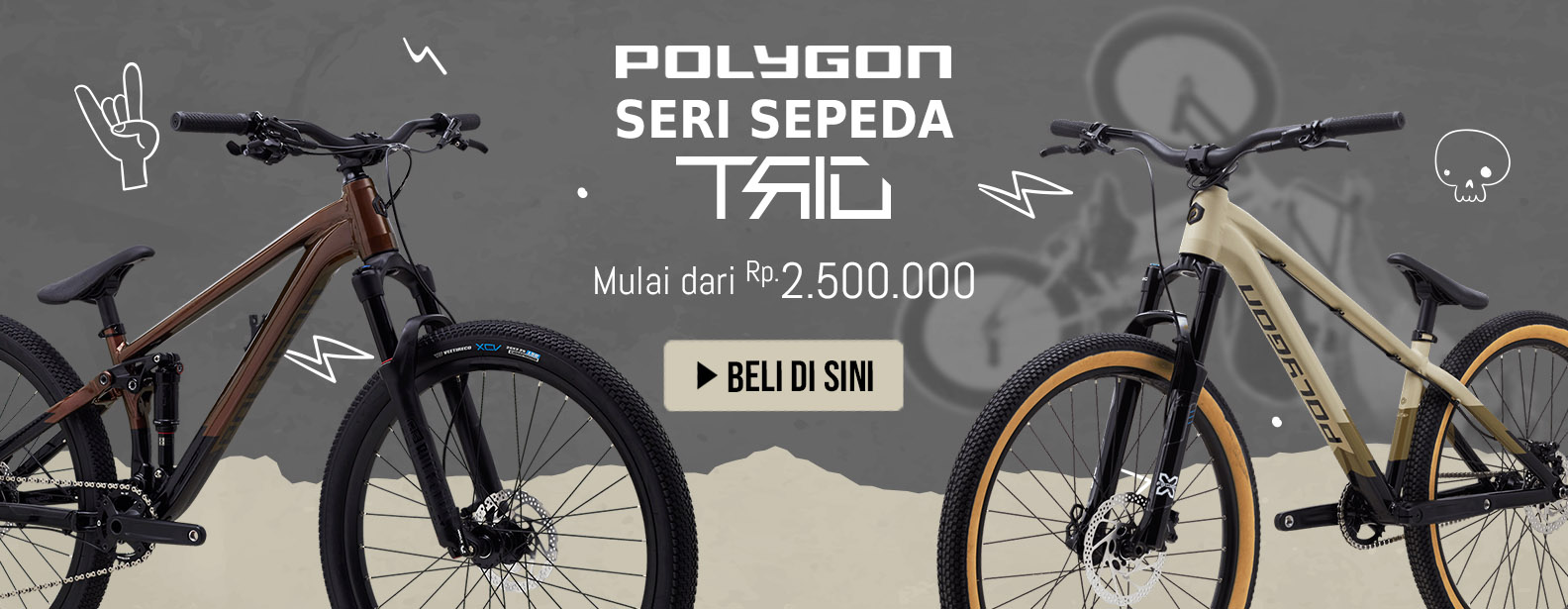 Polygon Seri Sepeda Trid