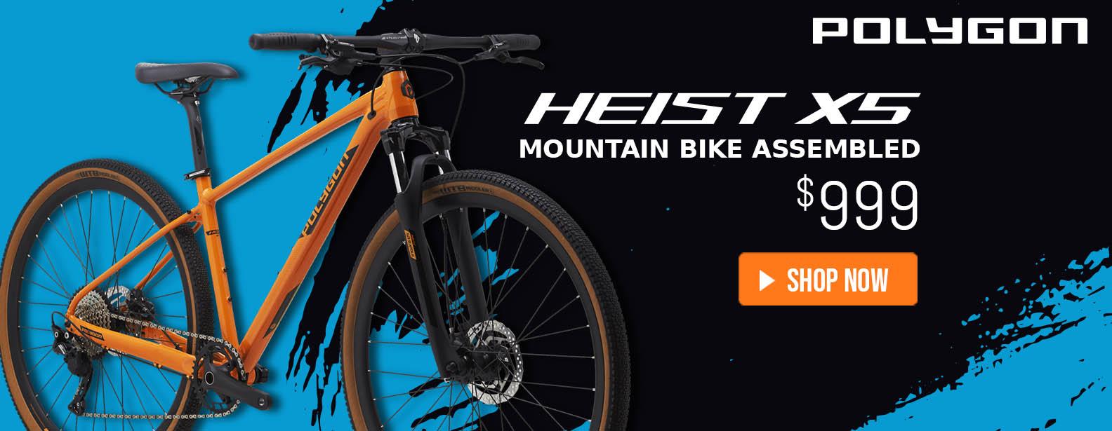 Polygon Heist X5 Urban Bike Assembled