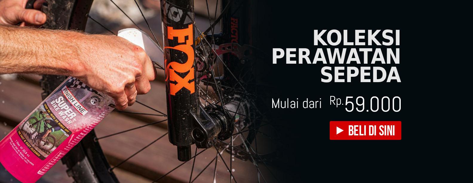 Koleksi Perawatan Sepeda