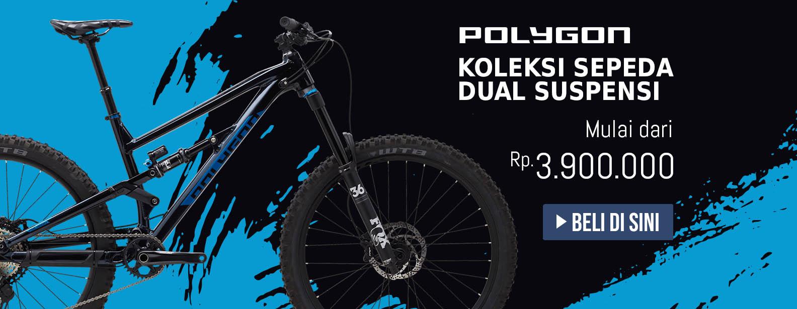 Koleksi Polygon Sepeda Dual Suspensi